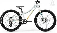 Dviratis Merida MATTS J.24+ 2020 glossy white Paauglių dviračiai
