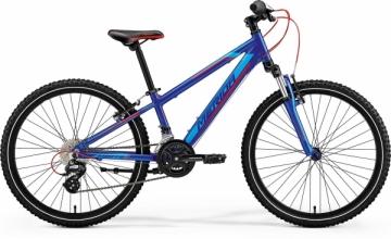 Dviratis Merida MATTS J.24 2018 blue Paauglių dviračiai