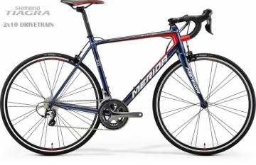 Dviratis Merida SCULTURA 300 2018 dark blue Race / Fitness dviračiai