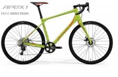 Dviratis Merida SILEX 300 2019 matt olive L(53) Race / Fitness dviračiai