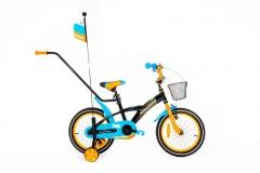 Dviratis Monteria 16 ALU blue-orange Dviračiai, triračiai vaikams