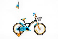 Dviratis Monteria 18 ALU blue-orange Dviračiai, triračiai vaikams