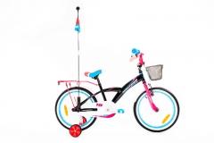 Dviratis Monteria 18 black-pink-blue Dviračiai, triračiai vaikams