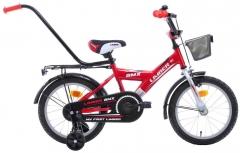 Vaikiškas dviratis Monteria Limber 16 red-silver-white Dviračiai, triračiai vaikams