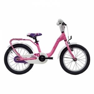 Dviratis niXe alloy 1 speed-lightpink matt size 16 Bikes for kids
