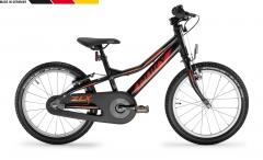 Dviratis PUKY ZLX 18-1 Alu F black with freewheel Bikes for kids