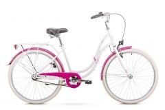 Dviratis Romet Angel 26 2019 pearl-pink Miesto dviračiai