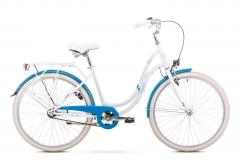 Dviratis Romet Angel 26 2019 white Miesto dviračiai