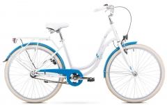 Dviratis Romet Angel 26 2020 white-blue Miesto dviračiai