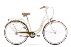 Dviratis Romet Angel 28 2019 cream Miesto dviračiai