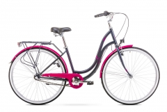 Velosipēds Romet Angel 28 3 2020 black-pink