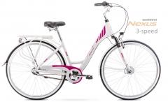 Velosipēds Romet Art Deco 28 3 2020 grey-pink