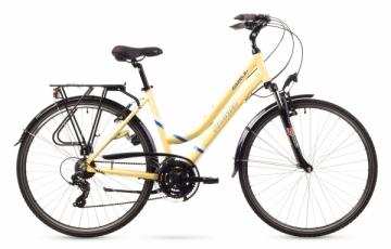 Dviratis Romet Gazela 1 2016 cream 17 Touring bikes (atb)