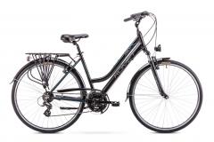 Velosipēds Romet Gazela 1 2019 black S(17) Touring (ATB) velosipēdi