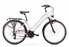 Velosipēds Romet Gazela 1 26 2019 white M17) Touring (ATB) velosipēdi