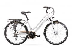 Dviratis Romet Gazela 26 2 2020 white-black Touring bikes (atb)