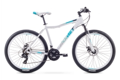 Dviratis Romet Jolene 26 2 2018 white-blue Bikes available