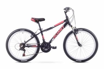 Dviratis Romet Jolene JR 24 Alu 2018 black-red Teens bikes