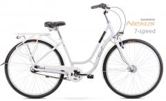 Dviratis Romet Luiza 28 7S 2020 white City bikes