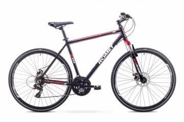 Dviratis Romet Orkan 1 M 2018 black-red 19 Hybrid (cross) bikes