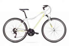 Dviratis Romet Orkan 2 D 2017 white-green Hybrid (cross) bikes