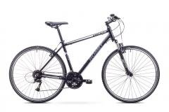 Dviratis Romet Orkan 2 M 2018 black-grey Hybrid (cross) bikes