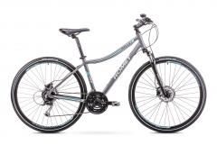 Dviratis Romet Orkan 3 D 2018 grey Hybrid (cross) bikes