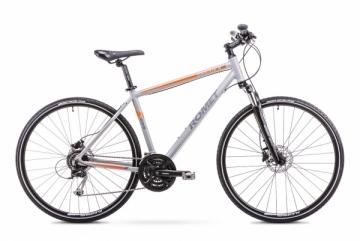 Dviratis Romet Orkan 4 M 2018 grey Hybrid (cross) bikes