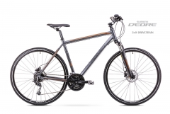 Dviratis Romet Orkan 4 M 2019 graphite Hybrid (cross) bikes