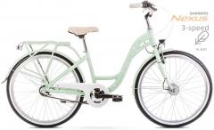 Dviratis Romet Panda Alu 24 2.0 2020 green Paauglių dviračiai