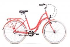 Dviratis Romet Pop Art 26 2019 red L(19) City bikes