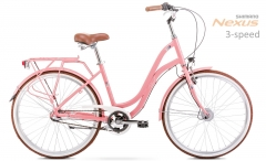 Dviratis Romet Pop Art 26 2020 pink City bikes