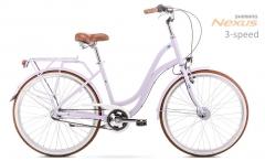 Dviratis Romet Pop Art 26 2020 violet M(17) City bikes