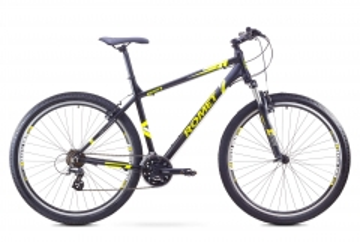 Dviratis Romet Rambler 29 1 2017 black-green 17 29er bikes