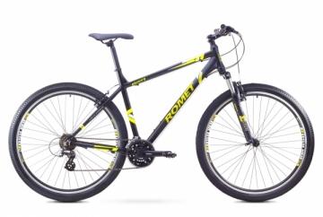 Dviratis Romet Rambler 29 1 2017 black-green 21 29er bikes