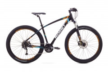 Dviratis Romet Rambler 29 3 2017 black-orange 20 29er bikes