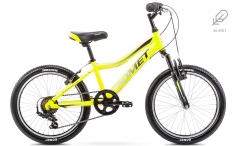 Dviratis Romet Rambler Alu 20 Kid 2 2020 yellow