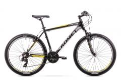 Dviratis Romet Rambler R6.0 2019 black-yellow Mountain bikes (mtb)