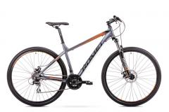 Dviratis Romet Rambler R9.1 2019 graphite-orange 29er dviračiai