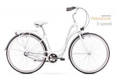 Dviratis Romet Sonata 28 2.0 2019 white-black City bikes