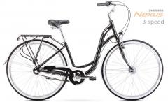 Dviratis Romet Sonata 28 2 2020 black-white M(17) City bikes