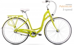 Dviratis Romet Sonata 28 2 2020 green M(17) City bikes