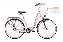 Dviratis Romet Symfonia 26 2.0 2019 pink-black M(17) City bikes