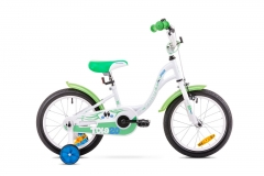 Dviratis Romet Tola 20 2019 white-green Dviračiai, triračiai vaikams