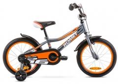 Dviratis Romet Tom 16 2020 graphite-orange