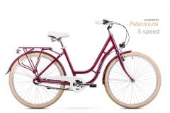 Dviratis Romet Turing 26 3s 2019 violet City bikes