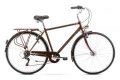 Vyriškas dviratis Romet Vintage M 28 2021 brown Miesto dviračiai