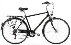 Vyriškas dviratis Romet Vintage M 28 2021 dark grey