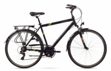 Dviratis Romet Wagant 1 2016 black-green 19 Touring bikes (atb)