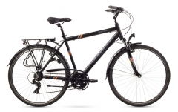 Dviratis Romet Wagant 1 2016 black-orange 19 Touring bikes (atb)